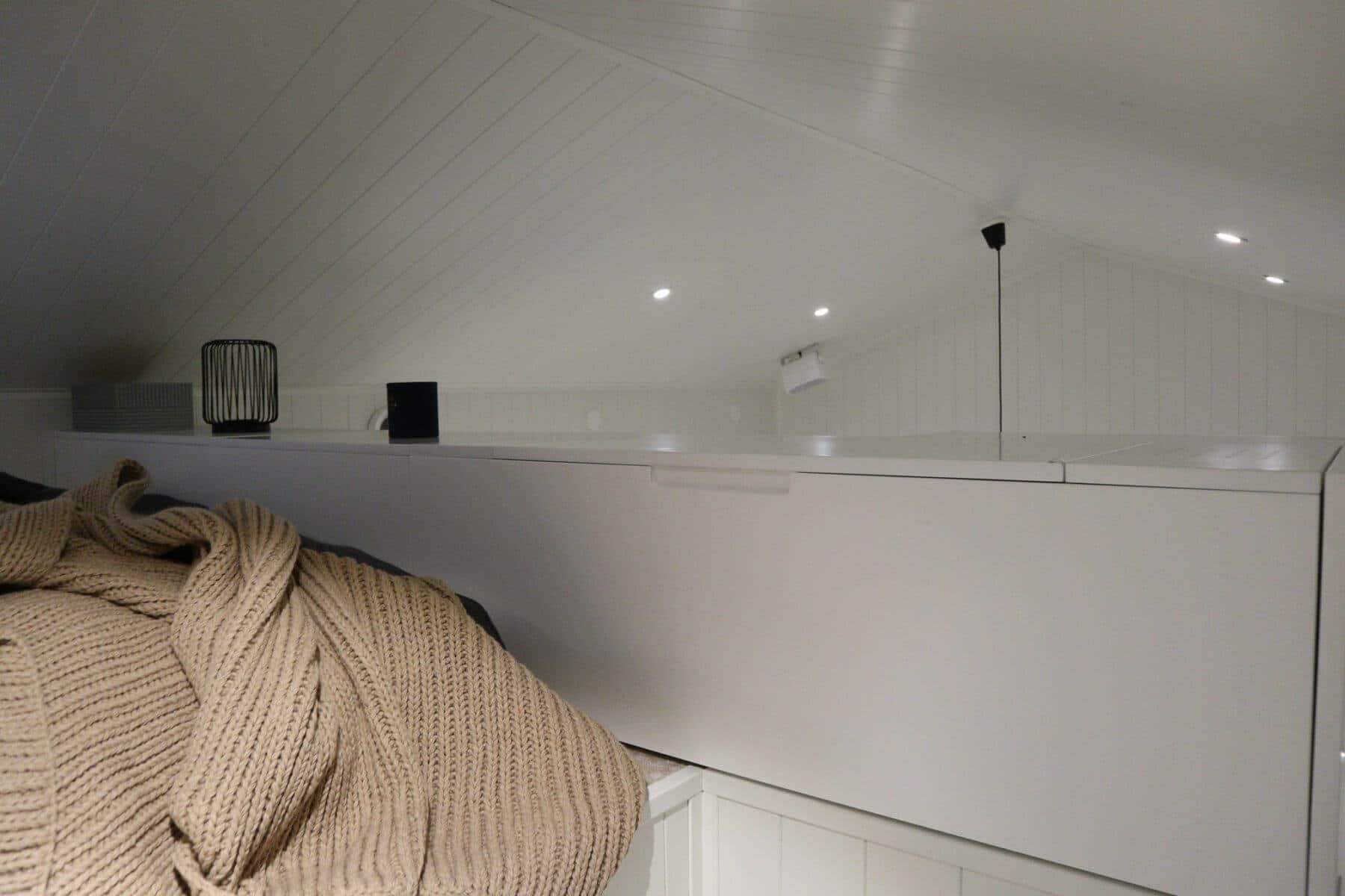 Loft attefallshus & friggebod & fritidshus