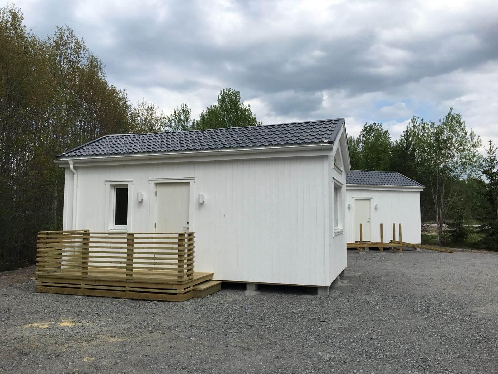 Nyckelfärdigt attefallshus bra för bostadsrättsföreningar och företag