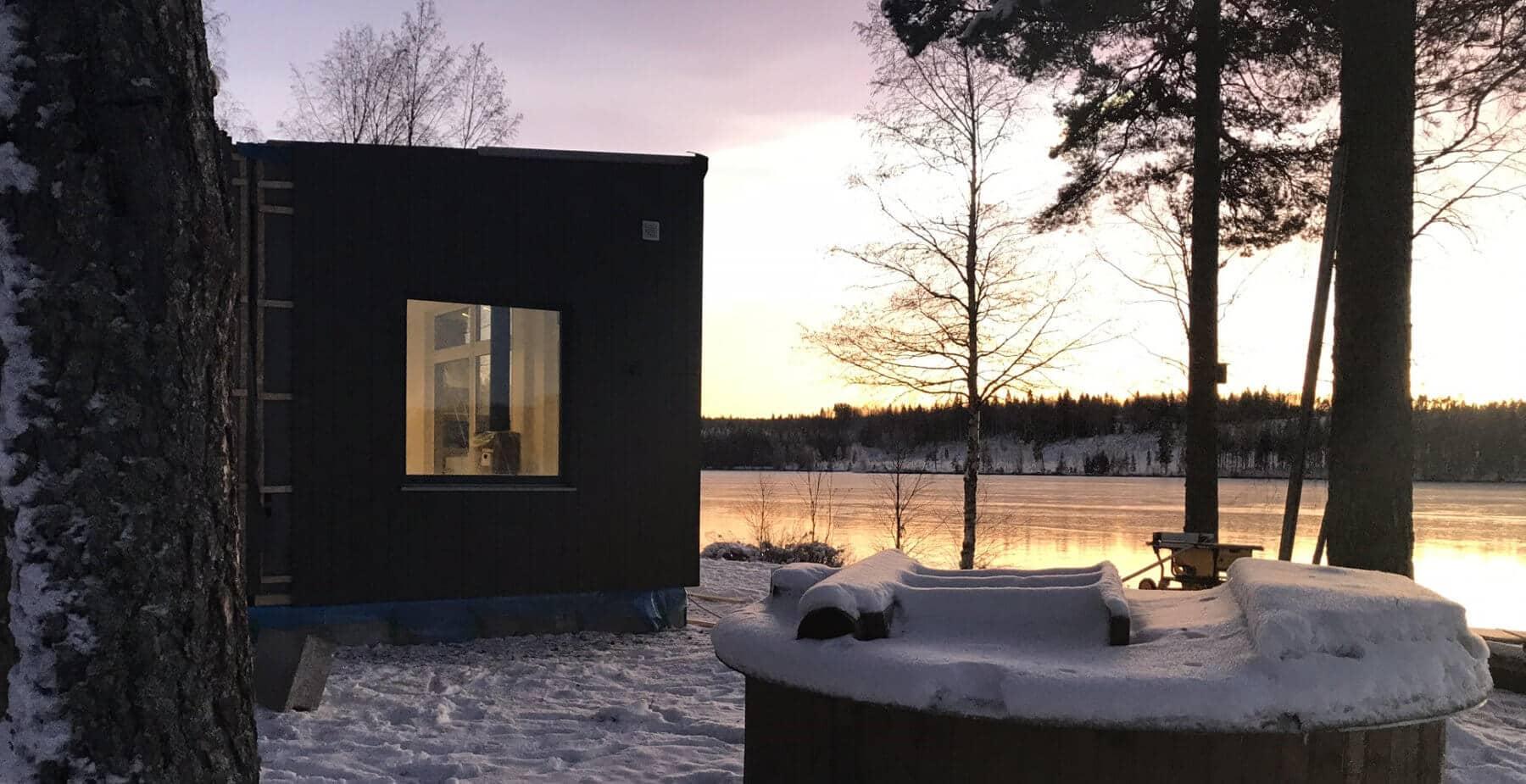Sjöutsikt Fritidshus 70kvm Husverket