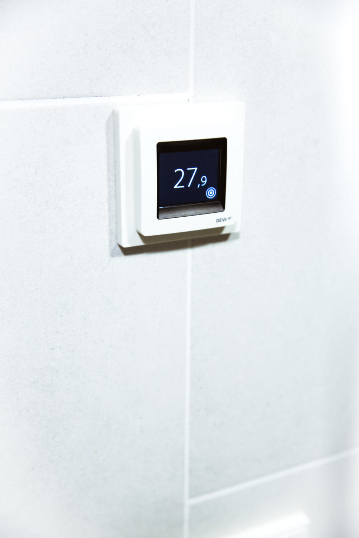 Temperaturdisplay Attefallshus