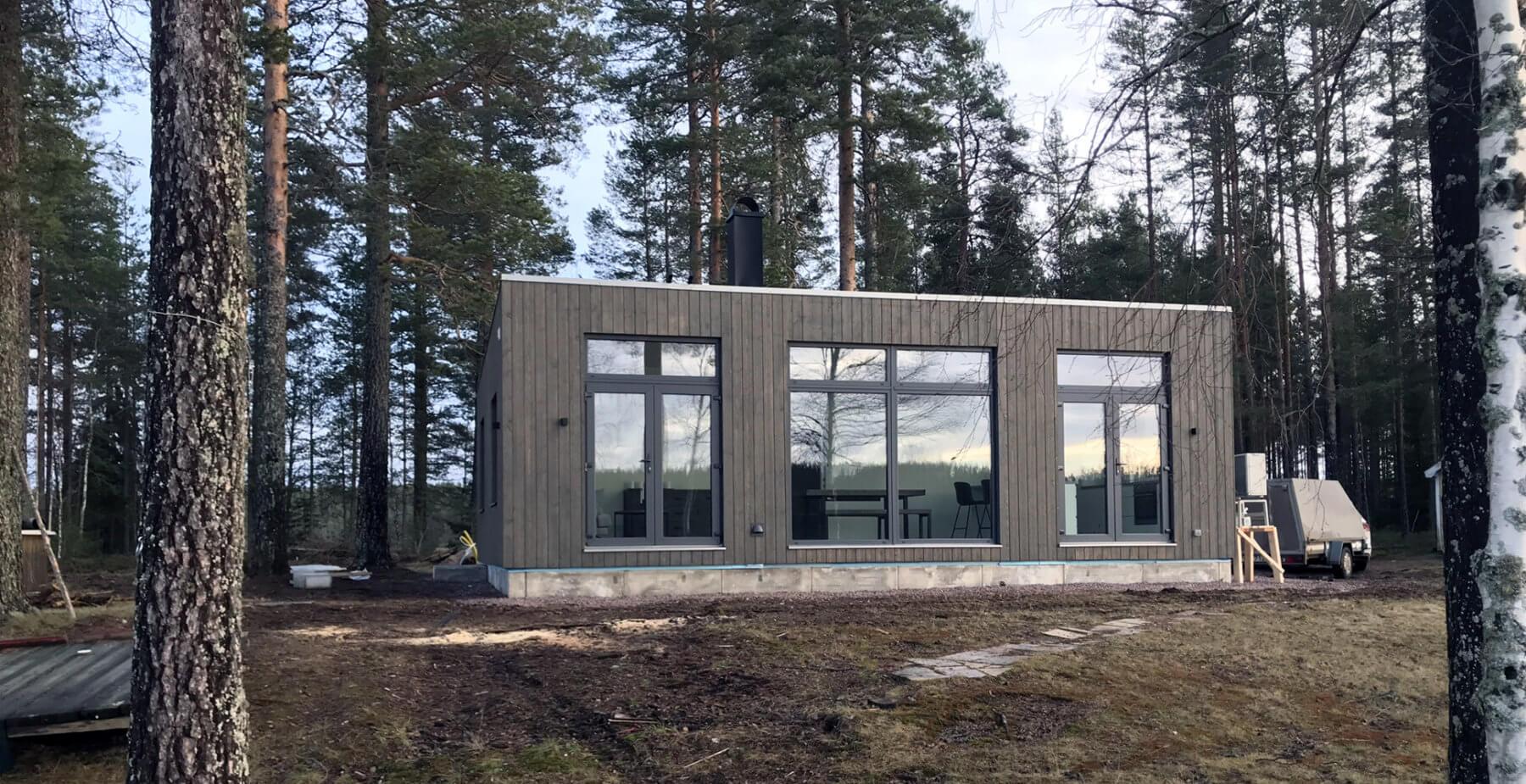 Fritidshus Ludvika Husverket Tjärvitriol