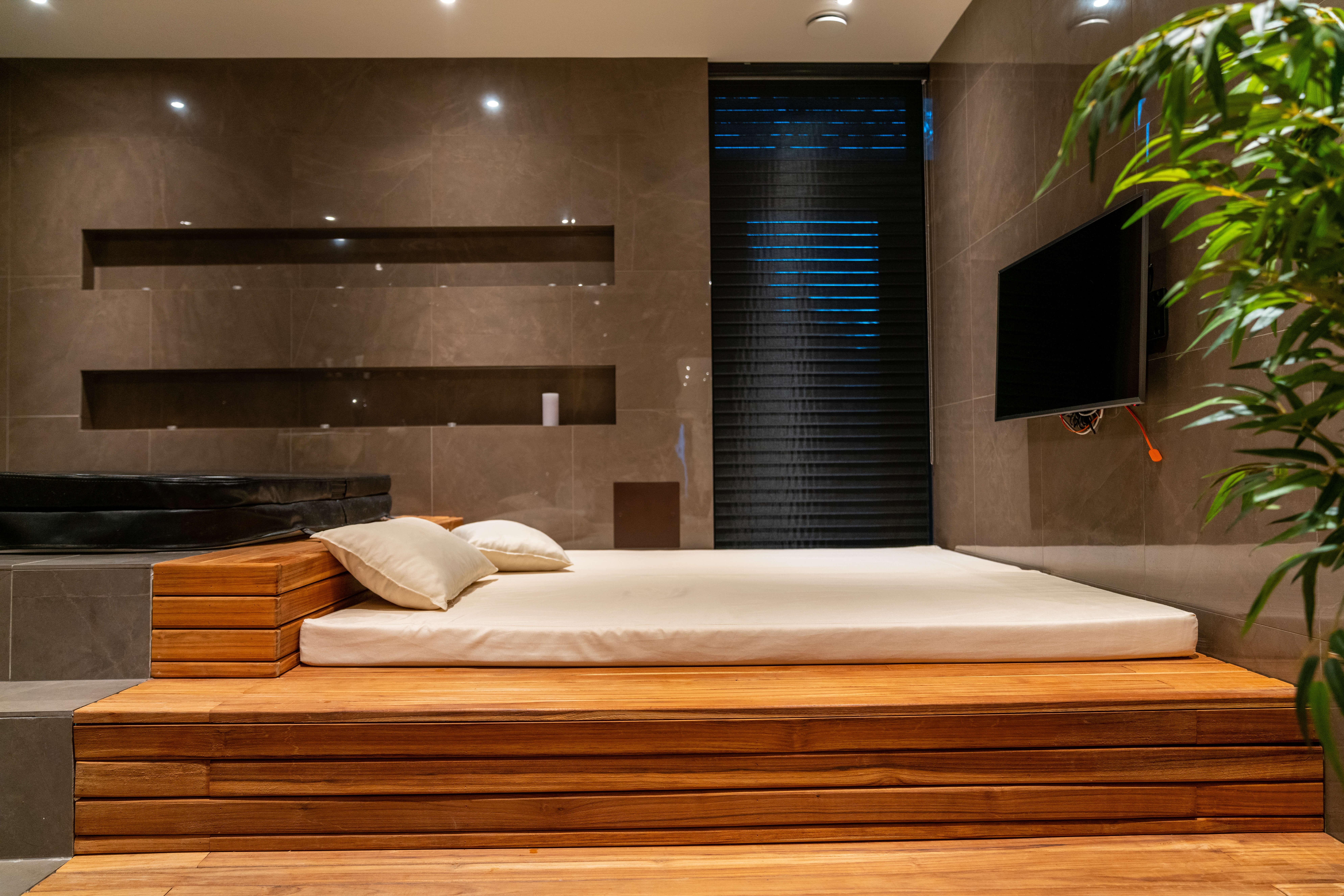 Arkitektritat badrum/spa