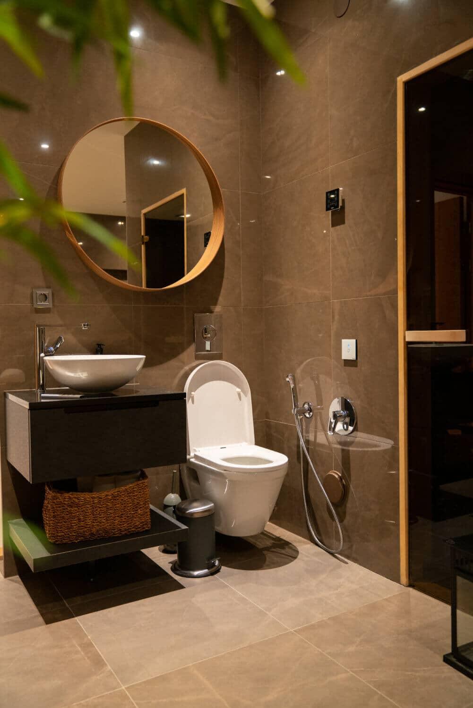 Specialdesignat badrum
